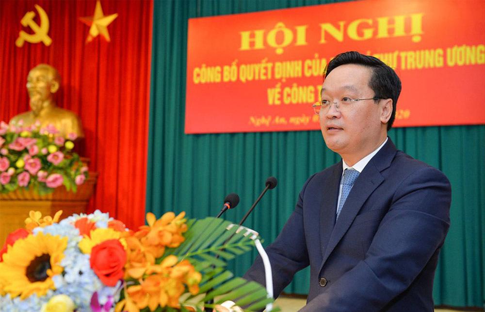 Thứ trưởng Bộ KH-ĐT giữ chức Phó bí thư Tỉnh ủy Nghệ An