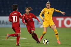 Nữ Việt Nam vs Australia: Chiến bằng tinh thần