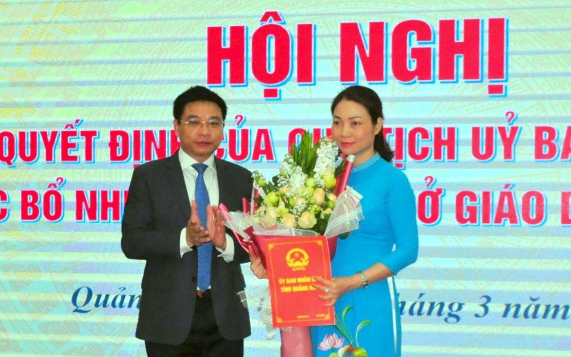 Hà Giang, Quảng Ninh có giám đốc Sở Giáo dục mới