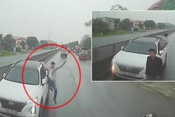 Tài xế ô tô đi ngược chiều, hung hăng tuyên bố 'tao say'