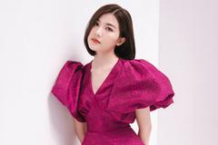 Tiểu tam' Lương Thanh đẹp thanh lịch với váy bồng vai