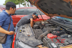 Cục Đăng Kiểm yêu cầu Ford Việt Nam giải trình sự cố chảy dầu