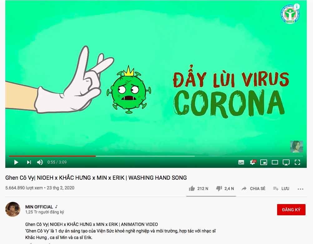 Sao Việt nào bắt trend 'vũ điệu rửa tay'?