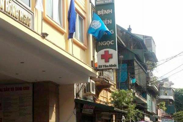 BV Hồng Ngọc tại Ba Đình tạm đóng cửa sau khi cách ly 19 nhân viên