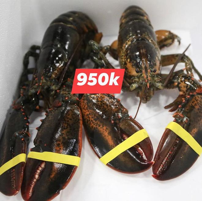 Đại hạ giá tôm hùm xanh 169.000 đồng/con, tôm Alaska 700.000 đồng/kg