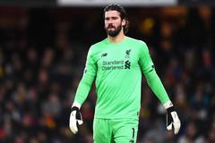 Liverpool điêu đứng vì chấn thương của Alisson