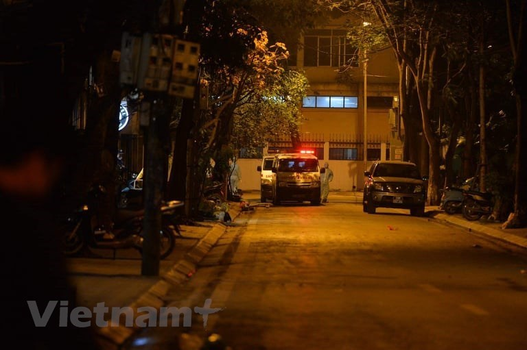 Hanoi's Truc Bach Street sterilised after COVID-19 patient discovered