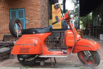 """""""Vespa"""" Ấn Độ 20 năm tuổi cực hiếm của dân chơi Sài Gòn"""