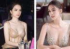 'Bỏng mắt' ngắm Hương Giang, Tiểu Vy khoe vòng 1 căng đầy