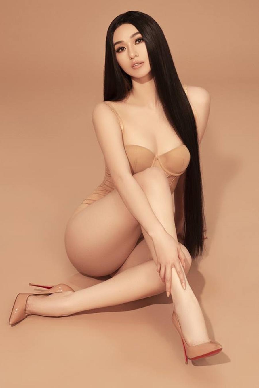 Không chỉ H'Hen Niê, Khánh My cũng sở hữu vòng 3 nóng bỏng 100cm