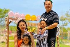 Phạm Quỳnh Anh cùng chồng cũ Quang Huy tổ chức sinh nhật cho con