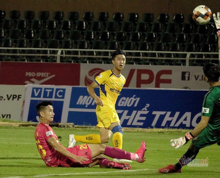 Sài Gòn vs SLNA,Hồng Lĩnh Hà Tĩnh vs Viettel,Bình Dương vs Đà Nẵng,Thanh Hóa vs Hải Phòn