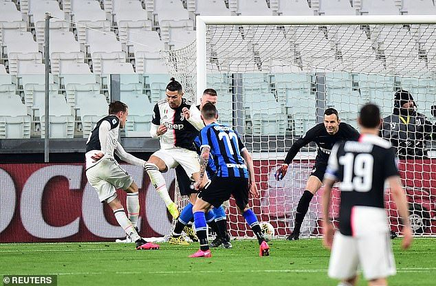 Ronaldo khơi mào, Juventus hạ Inter và đòi lại ngôi đầu