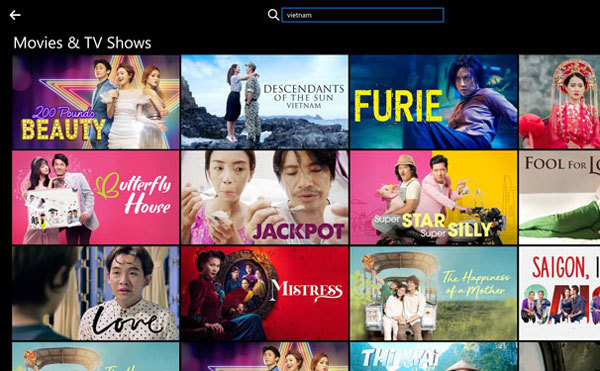 Vietnamese viewers prefer foreign to local on Netflix