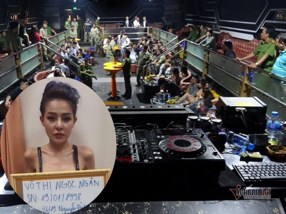 Hot girl Ngân 98 dương tính với ma túy trong bar ở Tây Ninh