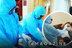 'Tổ dân phố' đặc biệt trong khu cách ly bệnh viện Công an