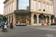 Bồn hoa Doji Tower chiếm vỉa hè: Quận nói phù hợp, Sở Xây dựng quyết xử lý