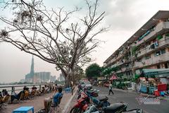 Nhịp sống chậm rãi hiếm có ở bán đảo giữa lòng Sài Gòn