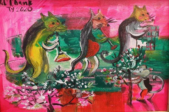 Painting exhibition celebrates Vietnam-Romania ties