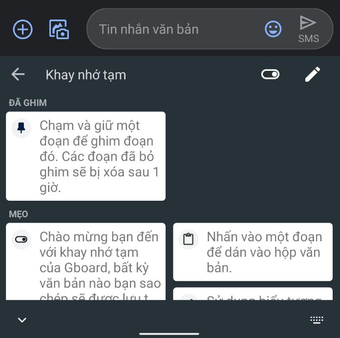 Cách sao chép nhiều đoạn văn bản cùng lúc trên smartphone Android