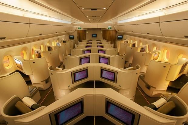 Đặc quyền đổi chỗ của khách hạng thương gia trên máy bay