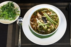 'Pho' cooked with medicinal plant materials