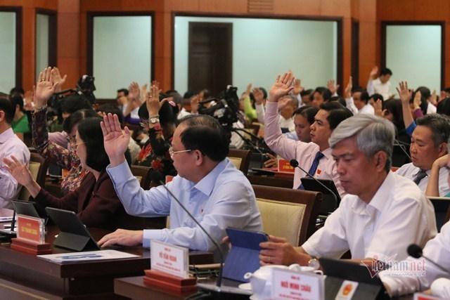 TP.HCM xin không tổ chức HĐND quận và phường