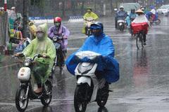 Thời tiết hôm nay 10/3, Bắc Bộ mưa giông, trời chuyển rét