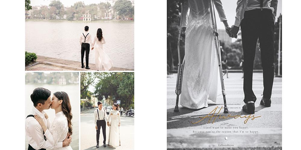 Tình yêu cổ tích của cặp đôi - 2 người chỉ có 2 chân
