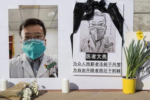 Bệnh viện Vũ Hán liên tiếp mất 4 bác sĩ vì dịch Covid-19