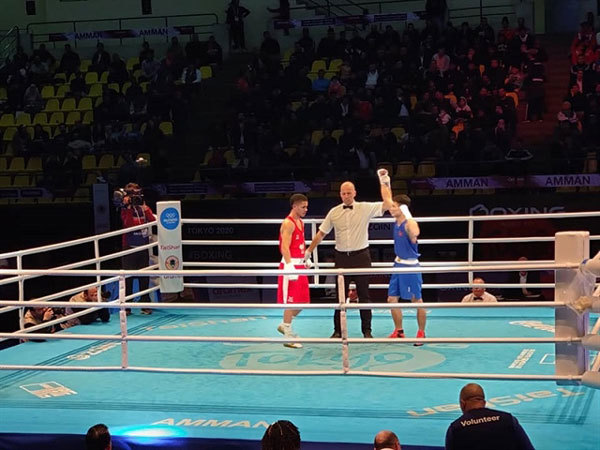 Vietnamese boxer seeks Olympic ticket in Jordan
