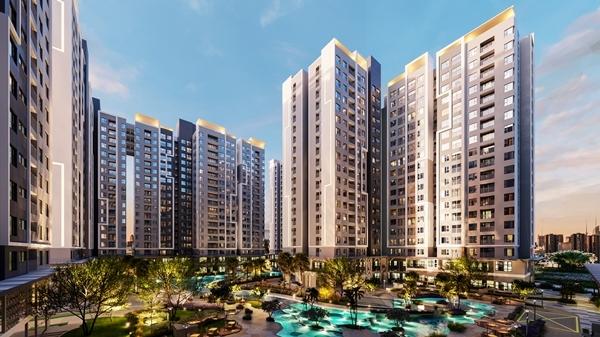 Thêm dự án 2.000 căn hộ ngay trung tâm hành chính Tây Sài Gòn