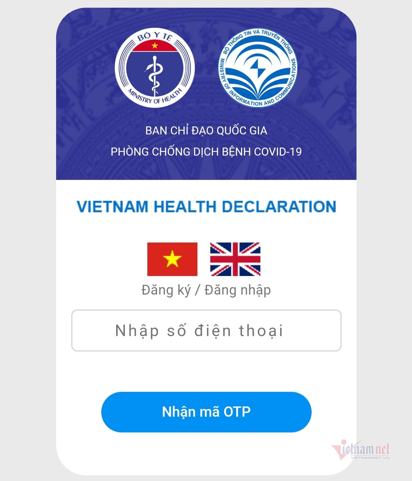 Cách khai báo y tế bắt buộc khi nhập cảnh vào Việt Nam