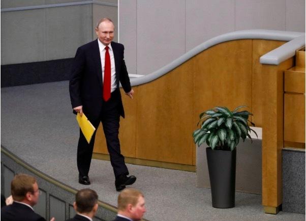 Putin ủng hộ sửa đổi hiến pháp, cơ hội tiếp tục làm Tổng thống