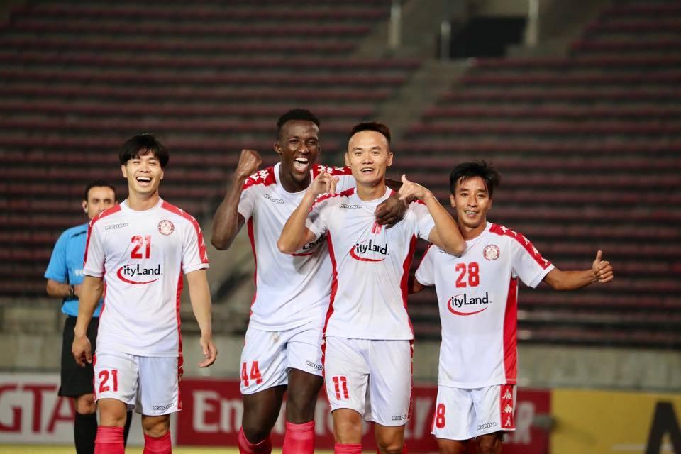 TPHCM vs Lào Toyota,Công Phượng,TPHCM,AFC Cup 2020