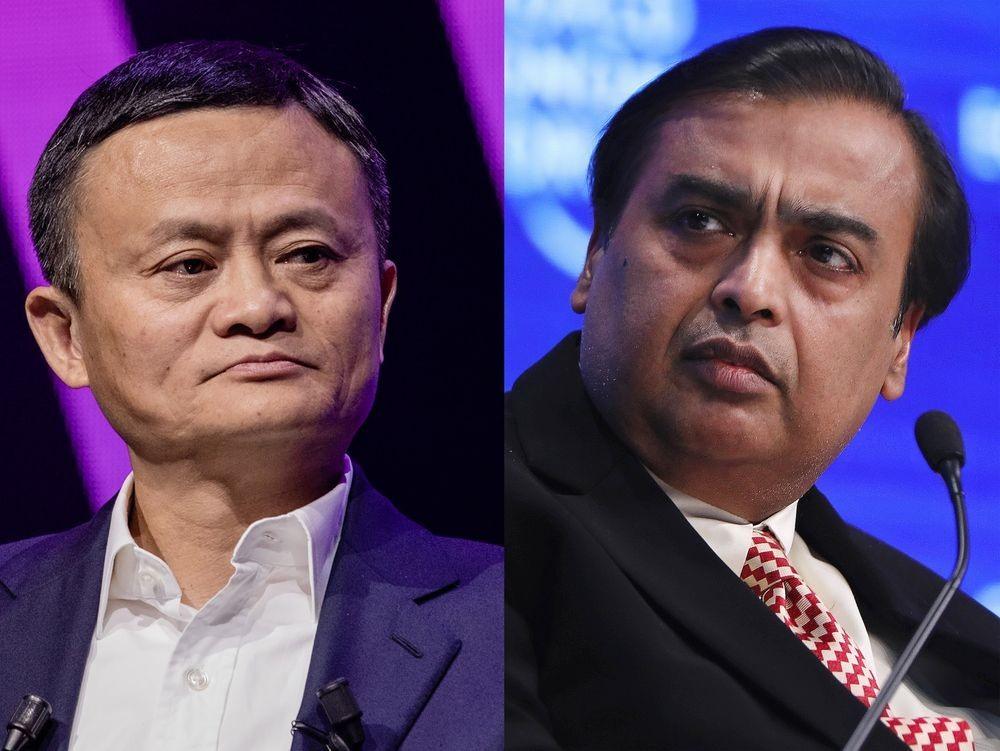 Jack Ma bất ngờ đoạt lại ngôi vị người giàu nhất Châu Á