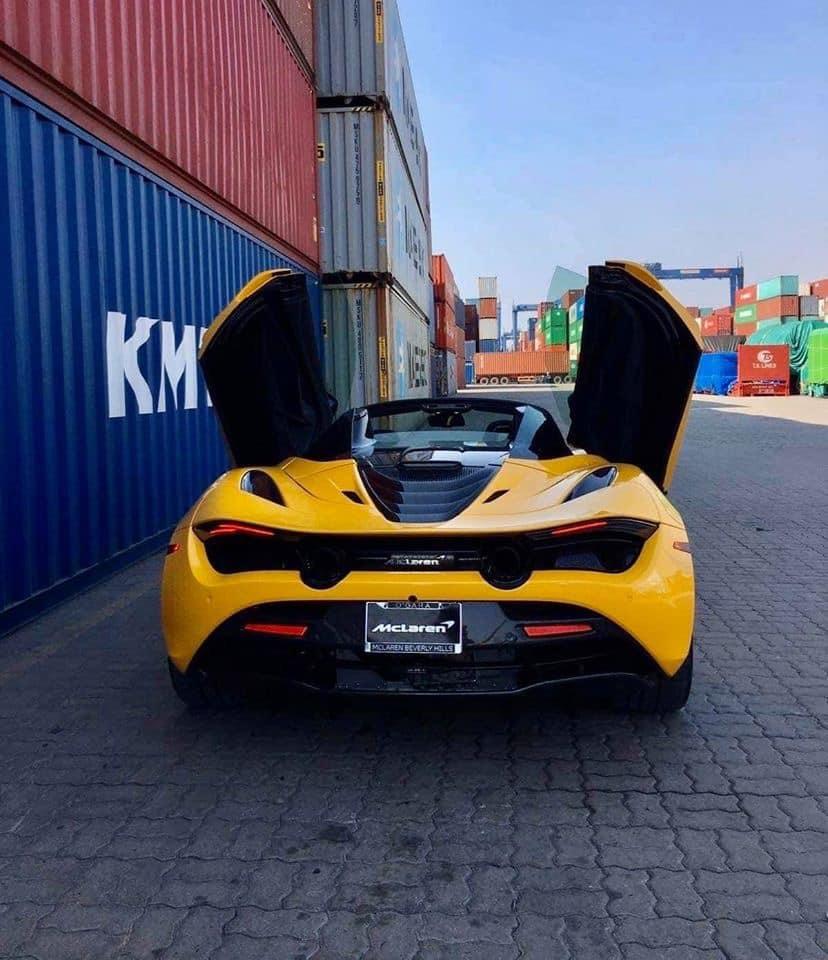 Đại gia Sài Gòn chi 1,2 triệu USD tậu McLaren 720s Spider Performance 2020