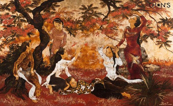 Hanoi,exhibition,traditional lacquer art