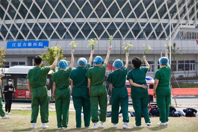 Bệnh viện dã chiến trị Covid-19 cuối cùng ở Vũ Hán đóng cửa