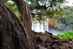 Phu Cuong Waterfall, a silk strip amidst the Gia Lai Mountains