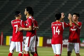 Than Quảng Ninh thắng trận đầu tay ở AFC Cup