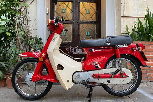"""Honda """"DD đỏ"""" 1987 niềm mơ ước một thời giá 200 triệu"""