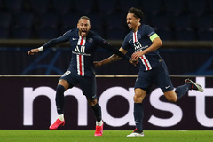 Neymar bừng sáng, PSG thổi bay Dortmund vào tứ kết