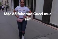 Cô gái bị đối xử lạnh nhạt khi mặc đồ fake mua sắm tại Gucci
