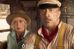 'The Rock' và Emily Blunt đóng bom tấn phiêu lưu mới của Disney