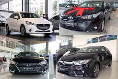 "Sedan cỡ B tháng 1/2021: Hyundai Accent, Honda City ""vượt mặt"" Toyota Vios"