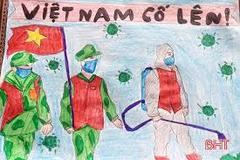 20 hoạ sĩ sáng tác tranh cổ động tuyên truyền phòng chống dịch Covid-19