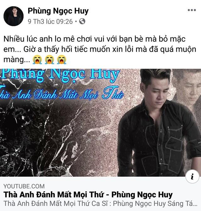 Khán giả khuyên Phùng Ngọc Huy về nước thăm Mai Phương và con gái