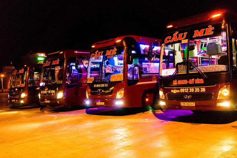 Xe khách chạy đêm hay ngày về Hà Nội đều không được trái tuyến