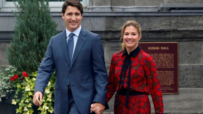 Canadian PM Trudeau's wife tests positive for coronavirus